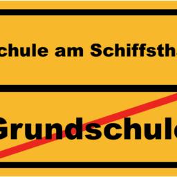 Schild Grundschule